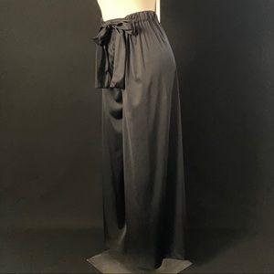 Vintage Gottex black palazzo pants